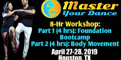 Kizomba Master Your Dance Workshop Foundation Bootcamp and Body Movement Intensive