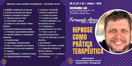"""Curso """"Hipnose como Prática Terapêutica"""" ingressos"""