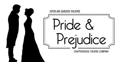 Open Air Theatre: PRIDE & PREJUDICE at the Round Tower