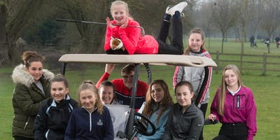 Girls Golf Rocks coaching course at The Leicestershire Golf club