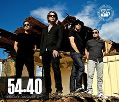 54 40 - Live at The KEE Friday August 2nd