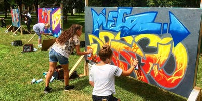 Sprayfinger Graffiti Camp with Peyton Scott Russell