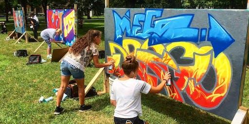 Sprayfinger Graffiti Camp with Peyton Scott Russell