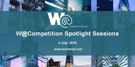 W@Competition Spotlight Sessions tickets