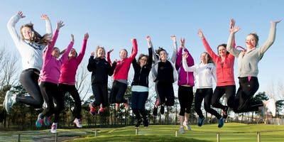 Girls Golf Rocks coaching course at Lincoln Golf centre