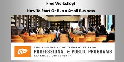 Free Small Business Workshop in El Paso, Texas