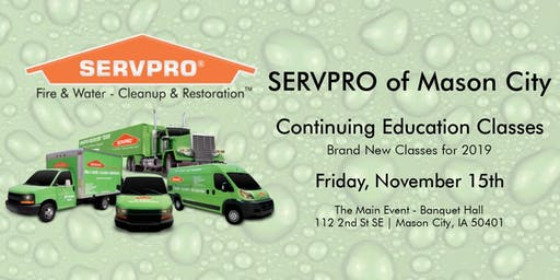 CE Class- SERVPRO of Mason City