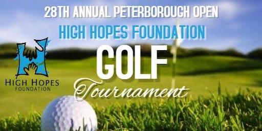 28th Annual Peterborough Open Golf Tournament
