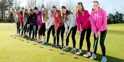 Girls Golf Rocks coaching course at Searles Golf club
