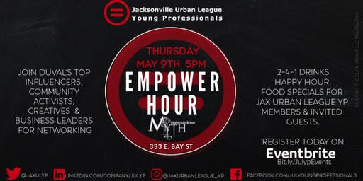 Empower Hour Hosted by Jacksonville Urban League Young Professionals
