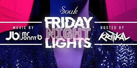 Ladies Free at Le Souk Friday Night Lights tickets