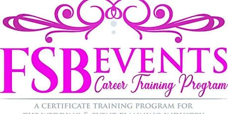 Atlanta Wedding & Event Planning Certificate Class tickets