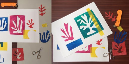 Matisse-Inspired Collage
