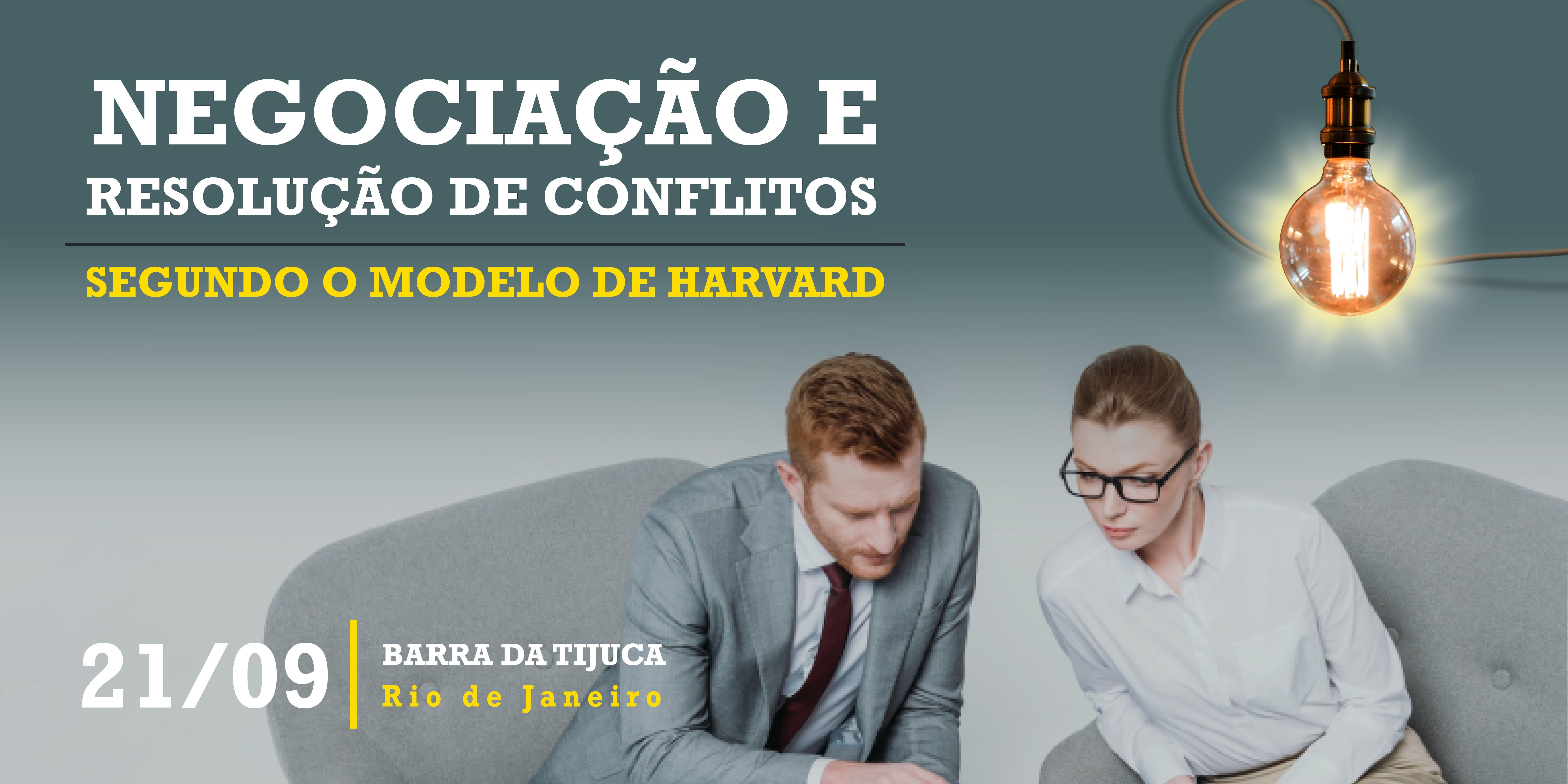 Negociação E Resolução De Conflitos Segundo O Modelo De