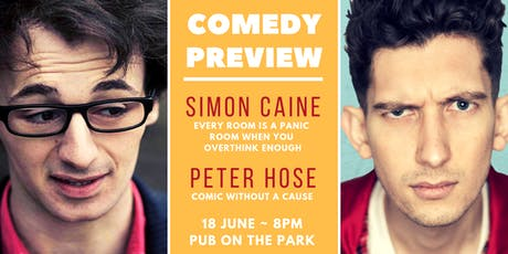 Simon Caine and Pete Hose - Edinburgh Fringe preview 2019 tickets