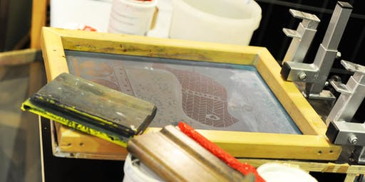 Schablonendruck - Einführung in den Siebdruck