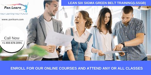Lean Six Sigma Green Belt Certification Training In Sanger, CA