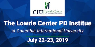 The Lowrie Center PD Institute
