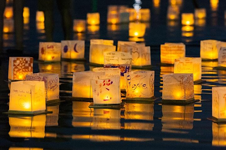 Image de Water Lantern Festival - Québec - fête des Lanternes D'eau