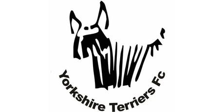 The Yorkshire Terriers FC Training sessions tickets