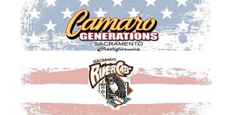 Camaro Generations at River Cats 2019 tickets