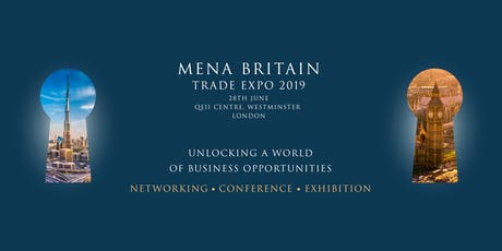 MENA Britain Trade Expo 2019 tickets