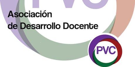 Membresía Anual Asociación de Desarrollo Docente PVC 2019 entradas