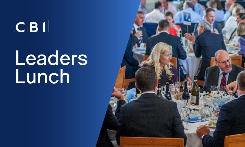 Leaders Lunch  (by invitation only)
