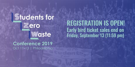 Students for Zero Waste Conference 2019 tickets