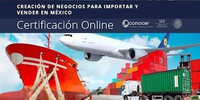 Certificación online: ''Creación de negocios con importaciones''.