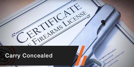 Concealed Carry Handgun tickets