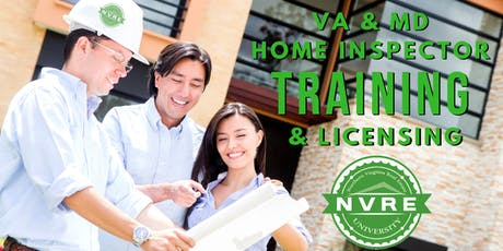 Home Inspection Training and Licensing Class tickets
