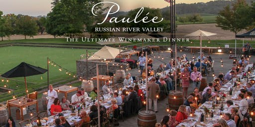 2019 Russian River Valley Paulée Dinner