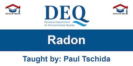 Education Course - Radon tickets