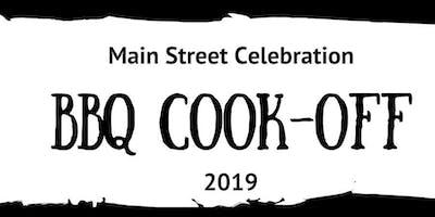 2019 BBQ Cook-Off at Wayland Main Street Celebration