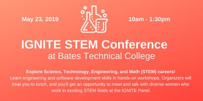 Panel at IGNITE STEM Conference at Bates Technical College