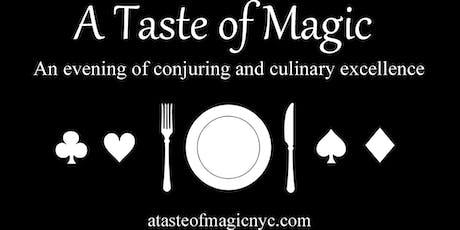 A Taste of Magic: Friday, June 21st at Gossip Restaurant tickets