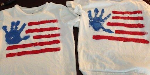 DIY 4th of July T-Shirts