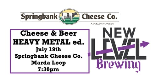 Cheese and Beer - Springbank Cheese & New Level Br