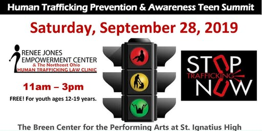 4th Annual Traffic Stop Teen Summit: Human Trafficking Prevention & Awareness Program