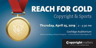 World Intellectual Property Day 2019: Reach for Gold: Copyright and Sports