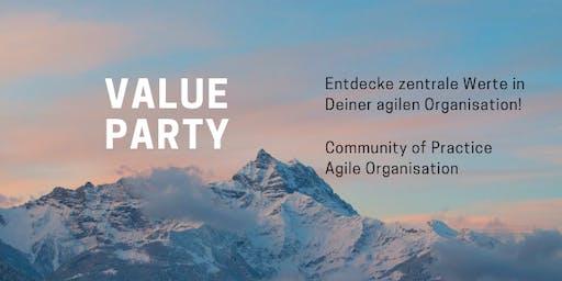 Value Party - Entdecke zentrale Werte Deiner agilen Organisation!