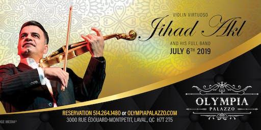 Violinist Jihad Akl