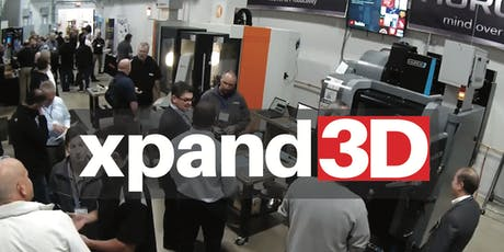 Xpand3D - Attendee Registration tickets