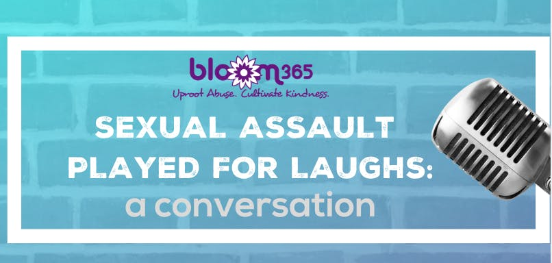 Male Sexual Assault Played for Laughs: A Conversation