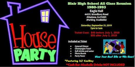 Blair High School All Class Reunion tickets