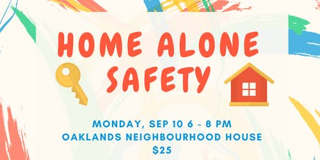 Home Alone Safety (9-12 yrs) tickets