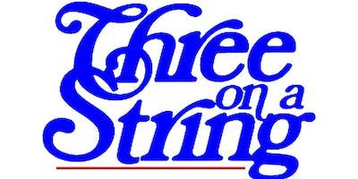 "CAT CABARET: ""THREE ON A STRING"" Thursday June 13th"