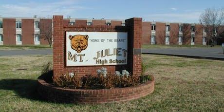 Mt. Juliet High School Class of 1989 | 30 Year Class Reunion  tickets