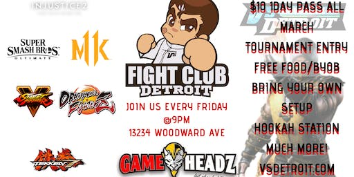 FightClub Detroit the cites first private video game social club